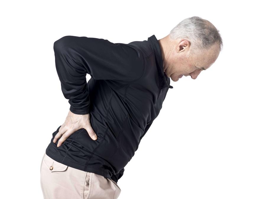 Помощь при боли в спине